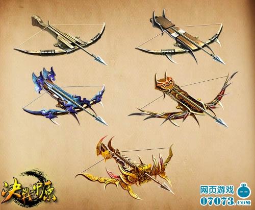神兵/在古代,弩一般使用多层竹、木片胶制的复合弓,形似扁担,所以...