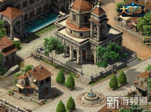 中世紀港城風情
