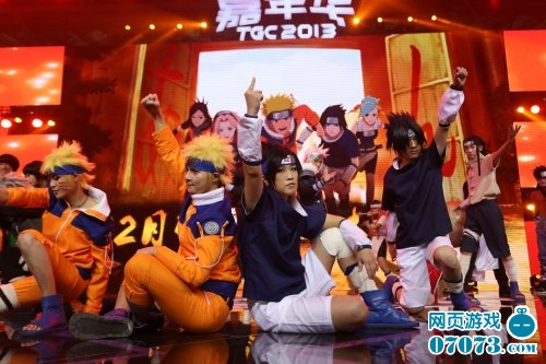 2013腾讯游戏嘉年华现场主舞台精彩图集 高清图片