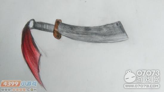 生死狙击玩家手绘-铁血大刀